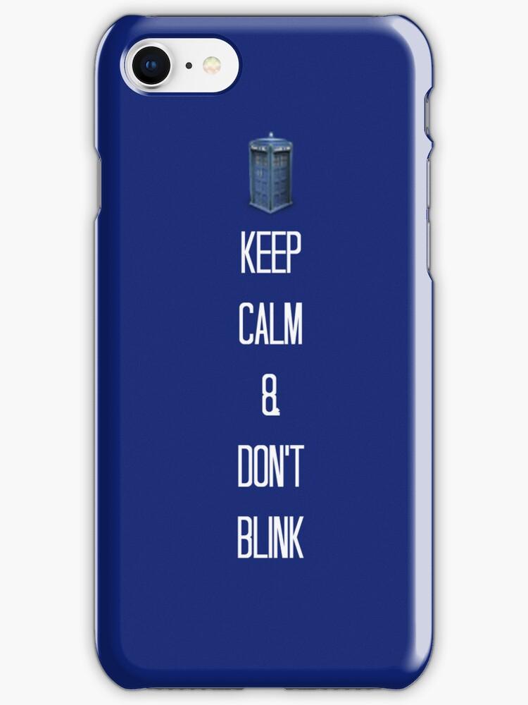 Keep Calm & Don't Blink! by NooriiElBeh