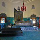 Tomb of Osman 1, Bursa by Peter Hammer