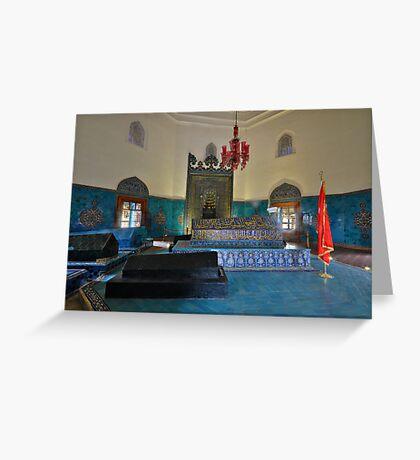 Tomb of Osman 1, Bursa Greeting Card