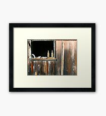 Abandoned villiage in Hawaii Framed Print