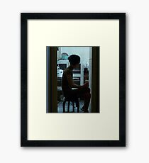 in the mood for love 2 Framed Print