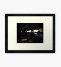 Bumper Car Framed Print