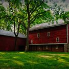 The Barn at Tinicum Park # 2 by Debra Fedchin