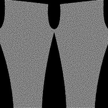 Maze leggings by DerBen