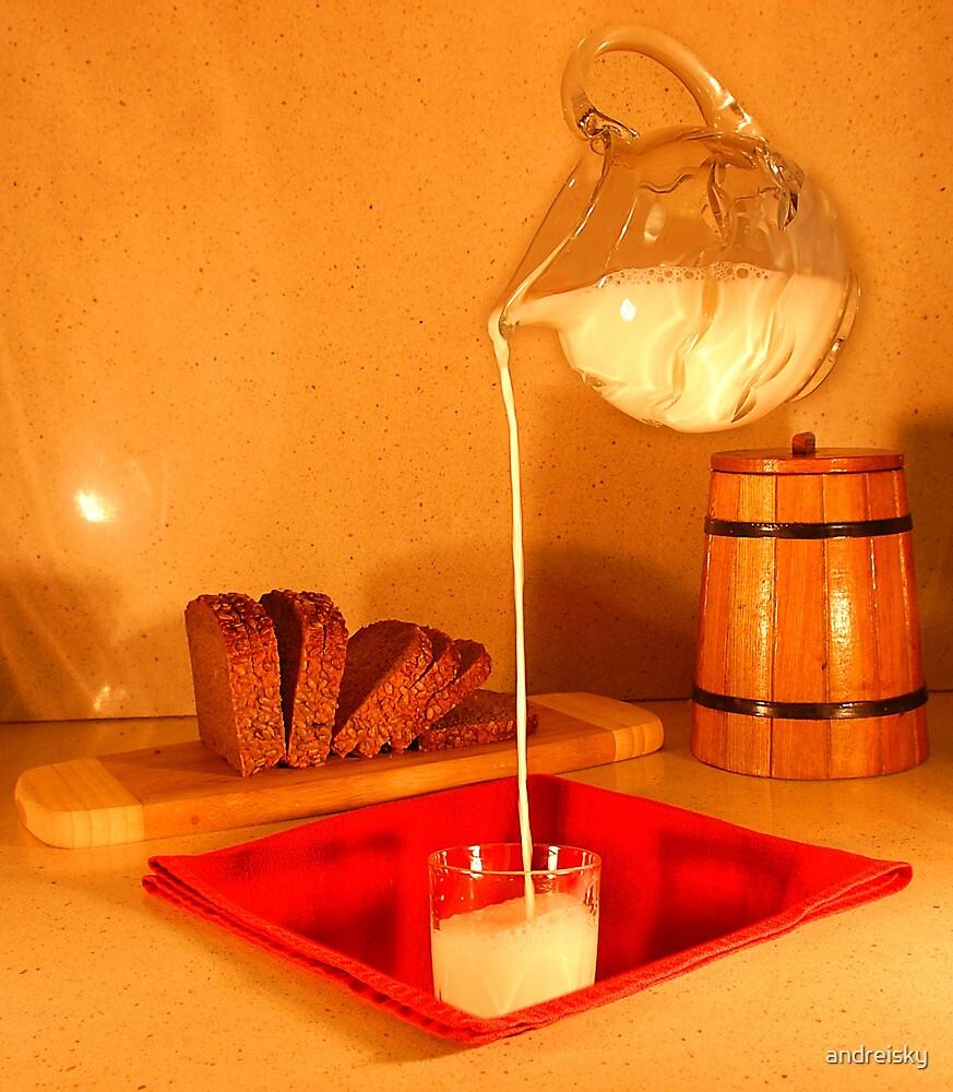 Milk-N-Bread by andreisky