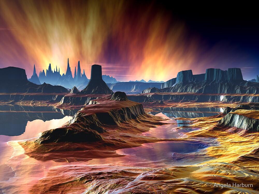 Fire in the Sky by Angela Harburn