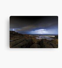 Shining Storm Canvas Print