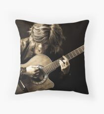 Soul, Heart and Leather Throw Pillow