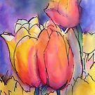 """""""Spring Tulips"""" by Colleen Reynolds"""