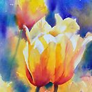 """""""Tulips in Brusho"""" by Colleen Reynolds"""