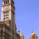 Wrigely Building - Chicago by William Dyckman