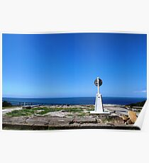 Trig point, Crowdy Head Poster