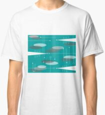 Mid-Century Space Age Ovals Classic T-Shirt