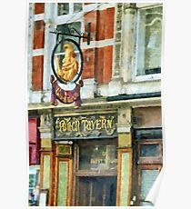 The Punch Tavern, 99 Fleet Street, London Poster