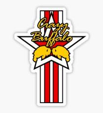 Street Fighter IV Boxer - Crazy Buffalo (Stars & Stripes) Sticker