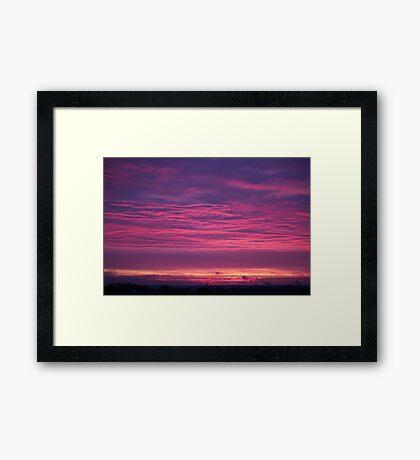 Midsummers Day Sunrise 2012 II Framed Print