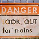 Danger Sign by robertemerald