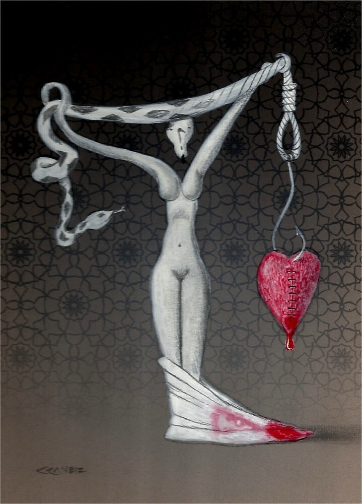Weight of my heart, not the size by will crane