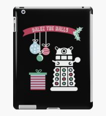 """Dalek the halls"" Christmas Design iPad Case/Skin"