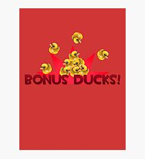 Team Fortress 2 - Bonus Ducks! (Red) Photographic Print