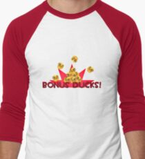 Team Fortress 2 - Bonus Ducks! (Red) Men's Baseball ¾ T-Shirt