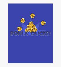 Team Fortress 2 - Bonus Ducks! (Blue) Photographic Print