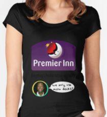 Team Premier Inn for Nationals Women's Fitted Scoop T-Shirt
