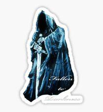 Fallen to Darkness Sticker