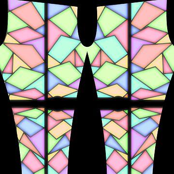 stainglass leggings v2 by DerBen