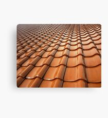 Tiled Roof Canvas Print
