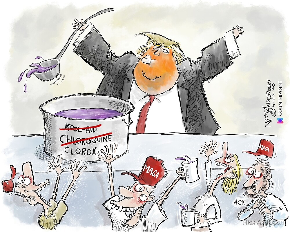 The Trump Cult by Nick Anderson