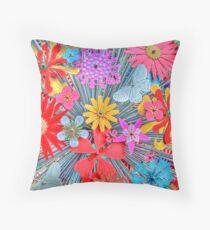 Bright And Cheerful Throw Pillow