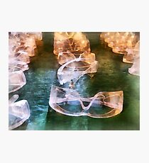 Rows of Safety Goggles Photographic Print