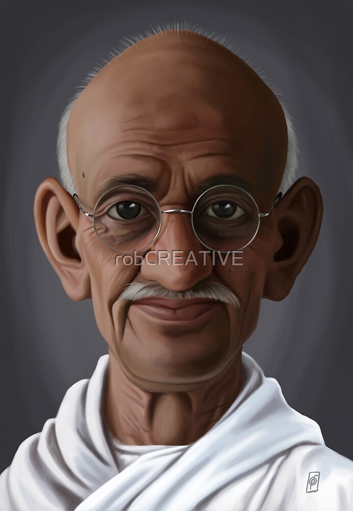 Celebrity Sunday - Mahatma Gandhi by robCREATIVE