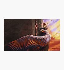 Fingon rescues Maedhros Photographic Print