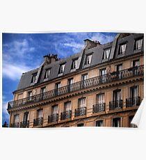 Parisien Skyline Poster