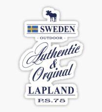 Lapland - Sweden Sticker