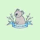 Be Kind to Nature Koala by zoel