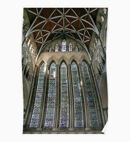 The Five Sisters Window in York Minster Poster