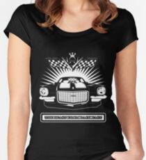 1970 1/2 454 Baldwin-Motion Camaro SS - The Beast from back East Women's Fitted Scoop T-Shirt