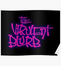 The VirulentBlurb Logo Poster