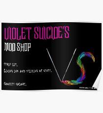 Violet Suicide's Mod Shop Poster