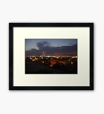 Holly Lightning  Framed Print