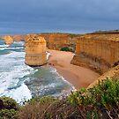 Twelve Apostles. Port Campbell National Park, Victoria, Australia. (2) by Ralph de Zilva