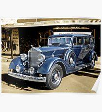 1934 Packard 1102 seven-passenger Sedan Poster