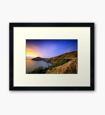 Taiaroa Head - Dunedin NZ Framed Print