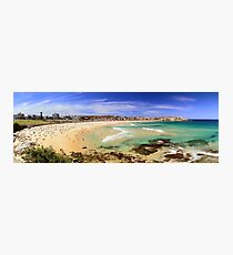 Bondi - Low Tide Panoramic Photographic Print