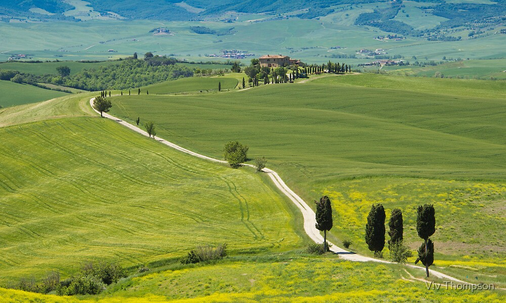 The Path from Pienza by vivsworld