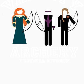 Varsity Archery (Fictional Division) by clockworkmonkey