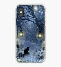 Winter-Dämmerung iPhone-Hülle & Cover